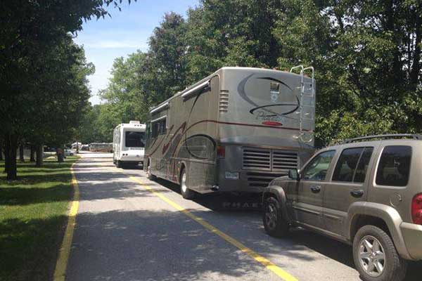 Full hookup camping in southern indiana