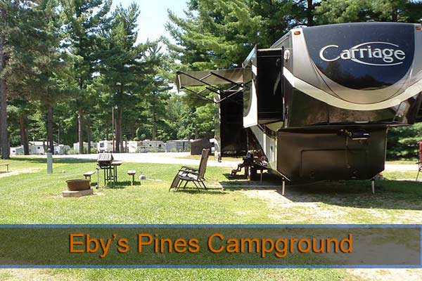 Eby's Pines Campground Indiana
